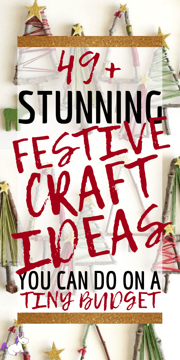 49+ DIY Festive Ideas That will Save You Money This Christmas. From Gift wrapping ideas, diy christmas tree decorations & handmade christmas gifts, this page will give you all the christmas craft ideas you need this year! via: https://themummyfront.com #christmascrafts #festivecrafts #handmadegiftideas #christmasdecorations #diychristmasdecorations #christmastreeinspiration #themummyfront #seasonalcrafts