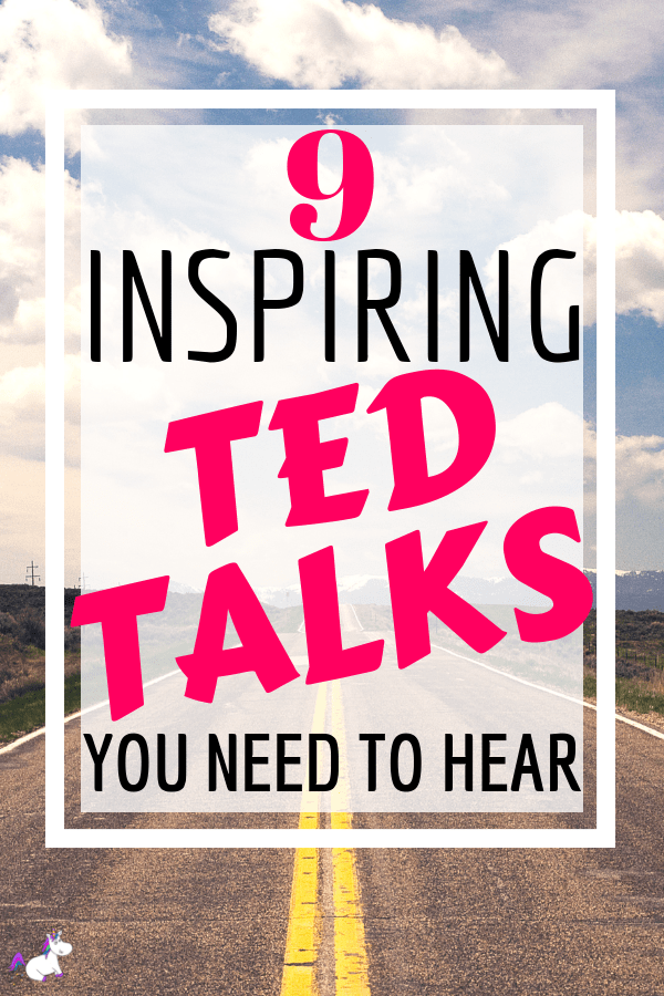 9 Inspirational TED Talks For People Who Are Having A Rough Day... self-care & Self-development talks to help you feel better today #tedtalk #inspirationaltalk #inspiration