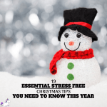 19 Essential Stress Free Christmas Tips ~ You Need To Know This Year