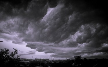 Storm approaching.