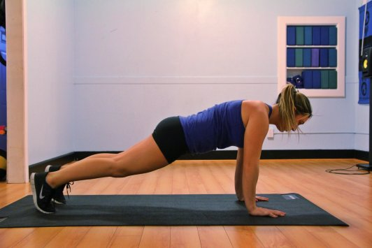 push up planks for at home plank workouts
