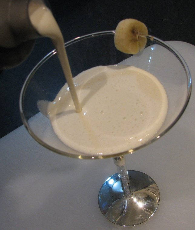 1...2...3...Banana & Honey Smoothie