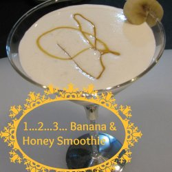 Banana & Honey Smoothie - Frozen fruit uses, recipe's and tips