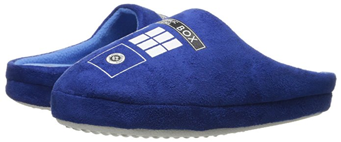 Tardis Slippers - geeky gift guide
