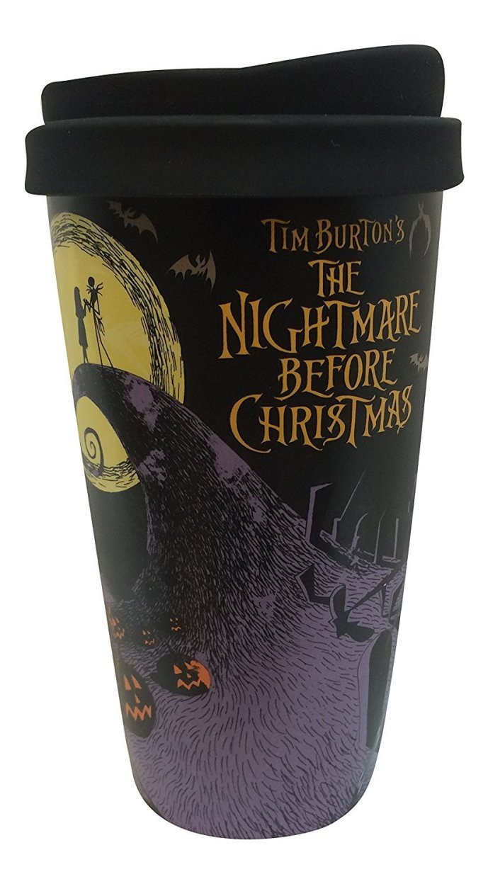 nightmare before Christmas travel mug