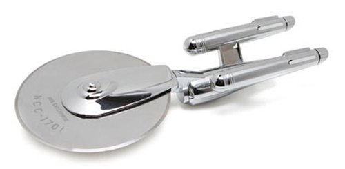 star trek pizza cutter - geeky gift guide