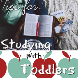 Tips and tricks for studying with a toddler. When the academic and the parenting lives cross over it doesn't have to be carnage!