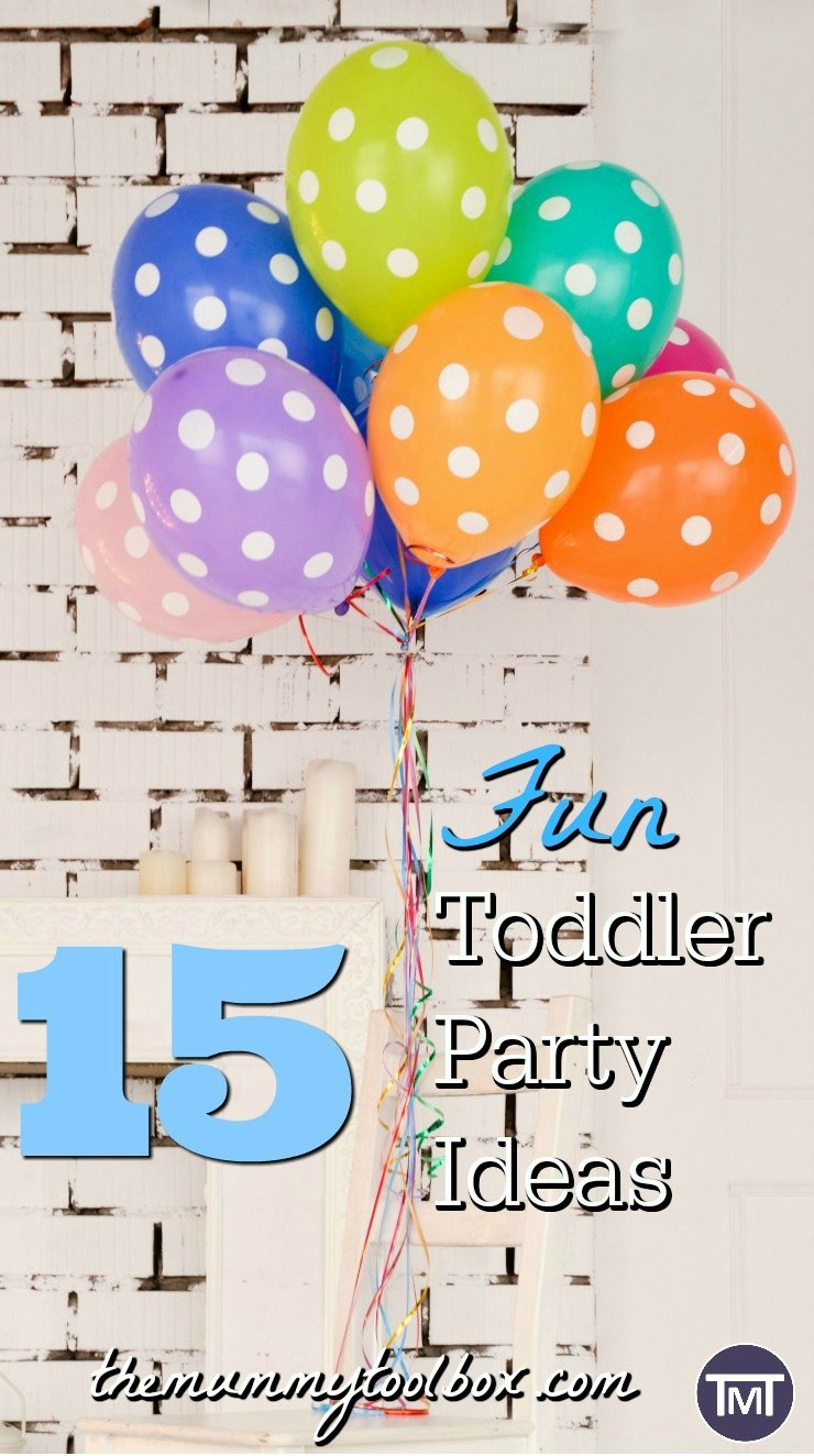 make your toddler party fun and unique by mixing up and expanding on some of these themes and ideas. Just a bit of party inspiration now they are at school.