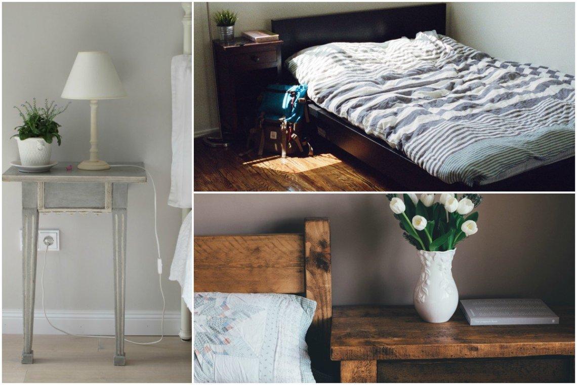organised Home bedroom collage