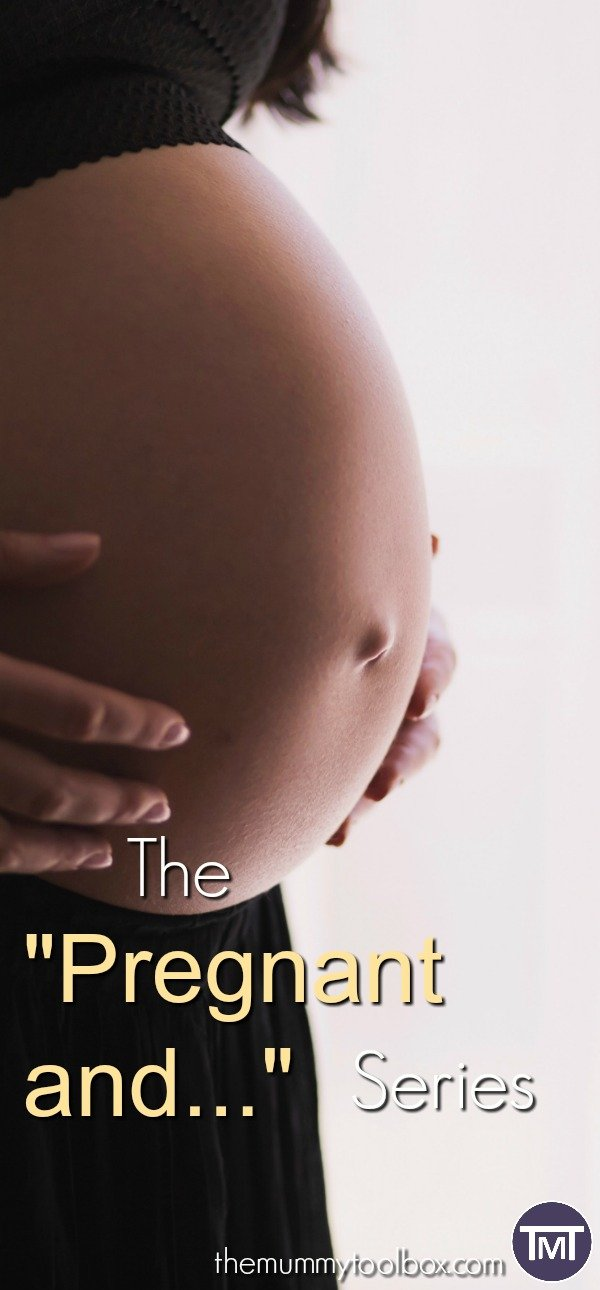 """Nearing the end of my pregnancy, I'm turning it into a mini pregnant series called """"Pregnant and..."""" documenting the final trials this time around."""