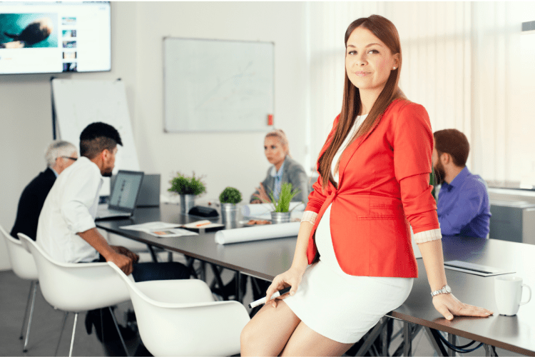 survive maternity leave financially