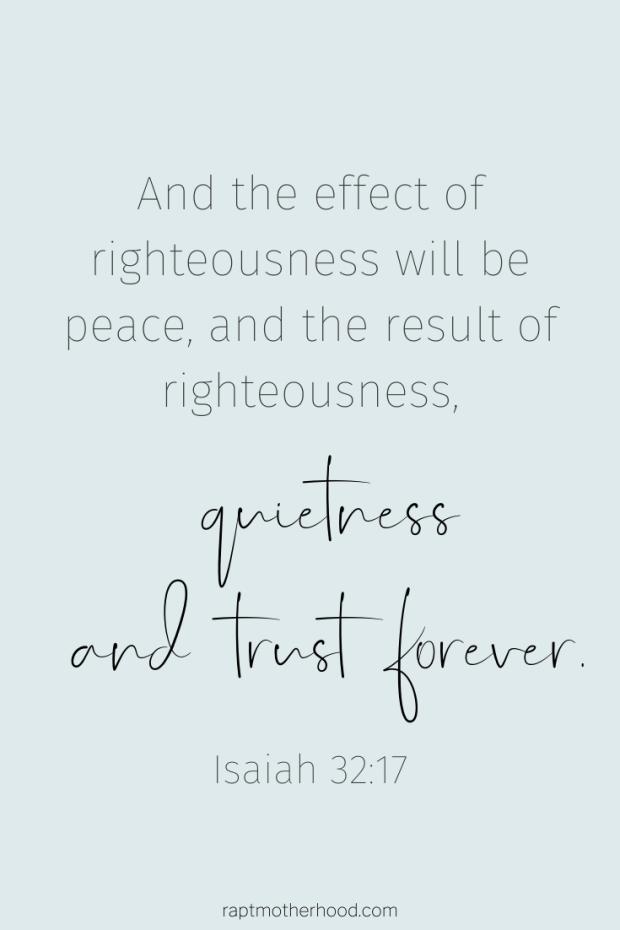 Bible verse on quietness, rest, and solitude