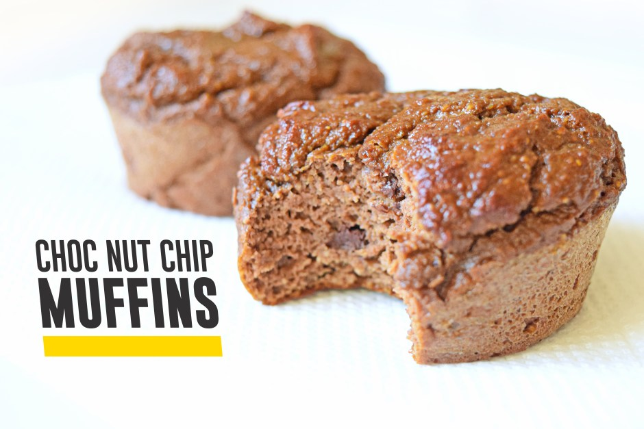Choc Nut Chip Muffins