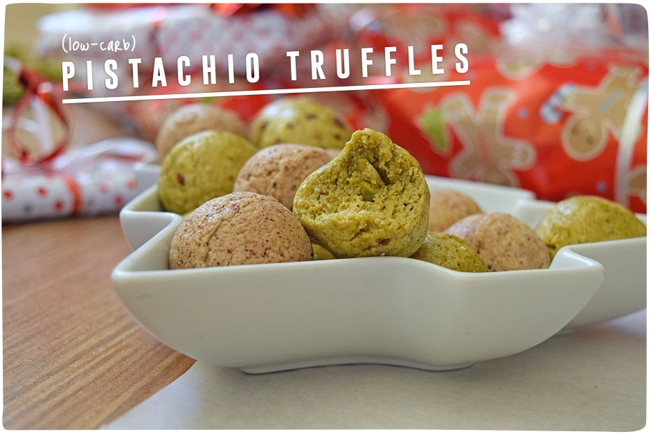 Pistachio Truffle Header