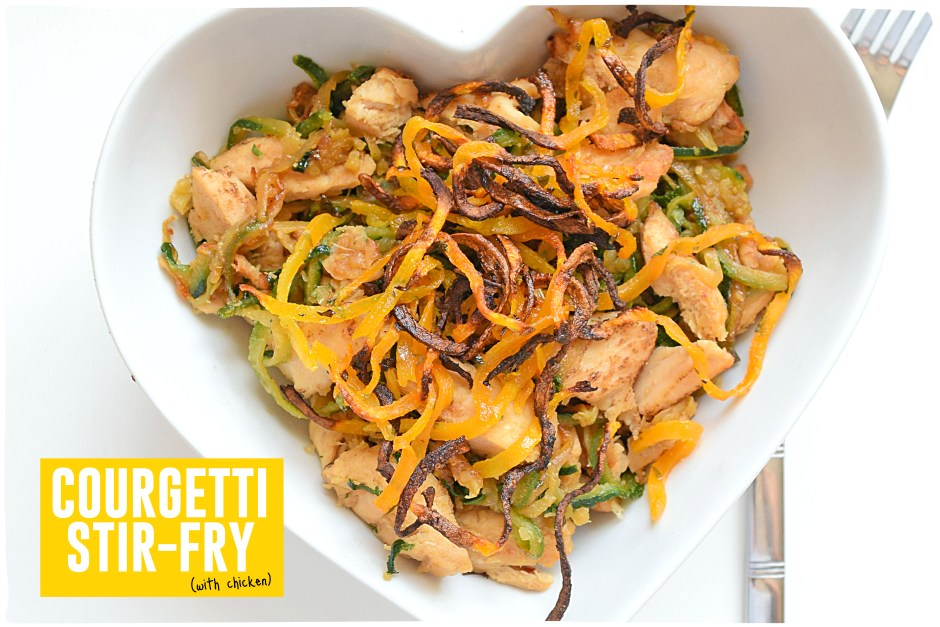 Courgetti Stir Fry Header