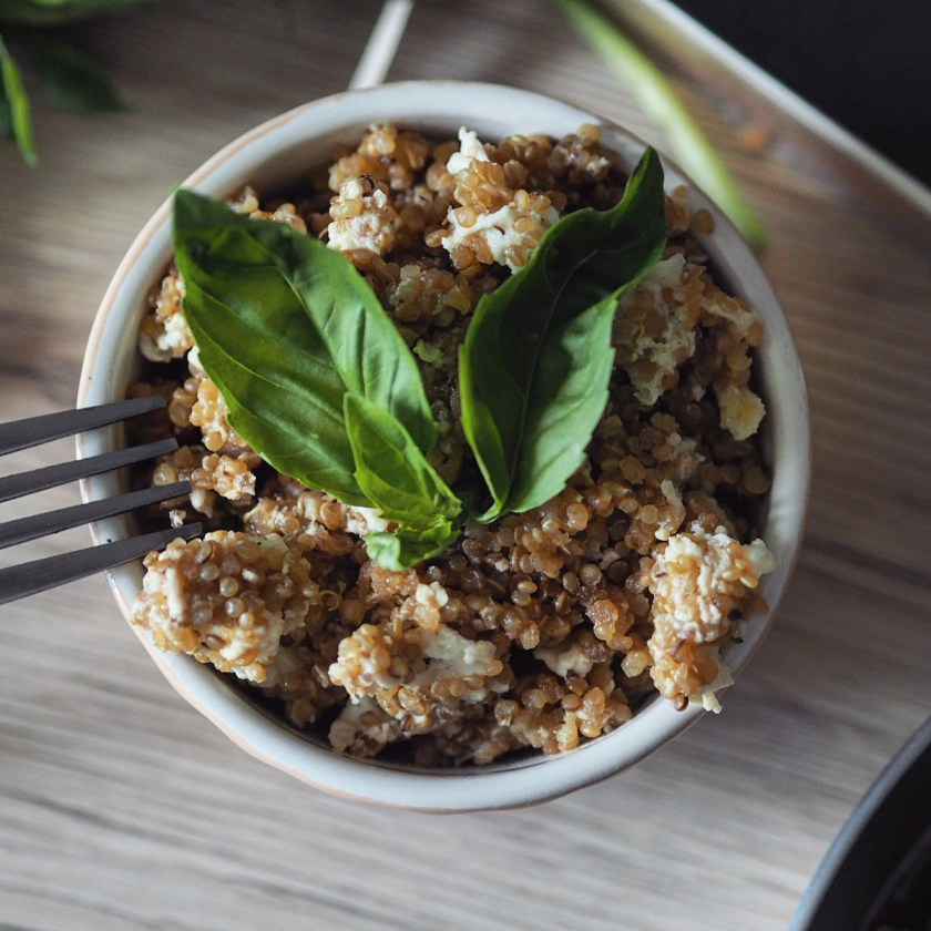 Egg-Fried Quinoa