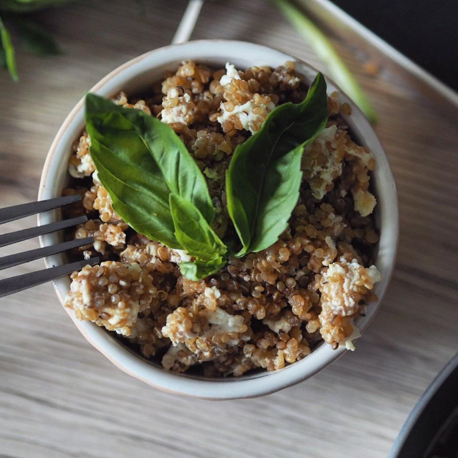 Egg-Fried Quinoa