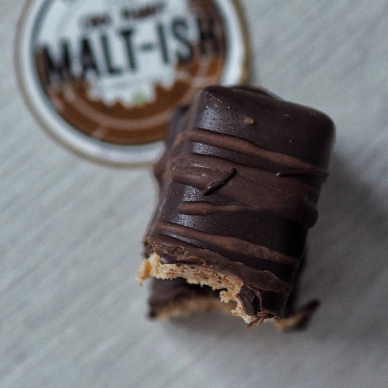 Choc Peanut Malt-ish Bar (Vegan)