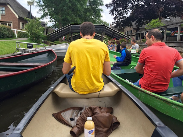 Giethoorn in the busy July/August months