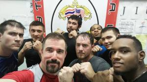 Muay Thai and MMA trianing rounds