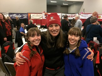 Aliy Zirkle - she's run the Iditarod 14 times and came in 2nd place in 2014. What a nice lady!