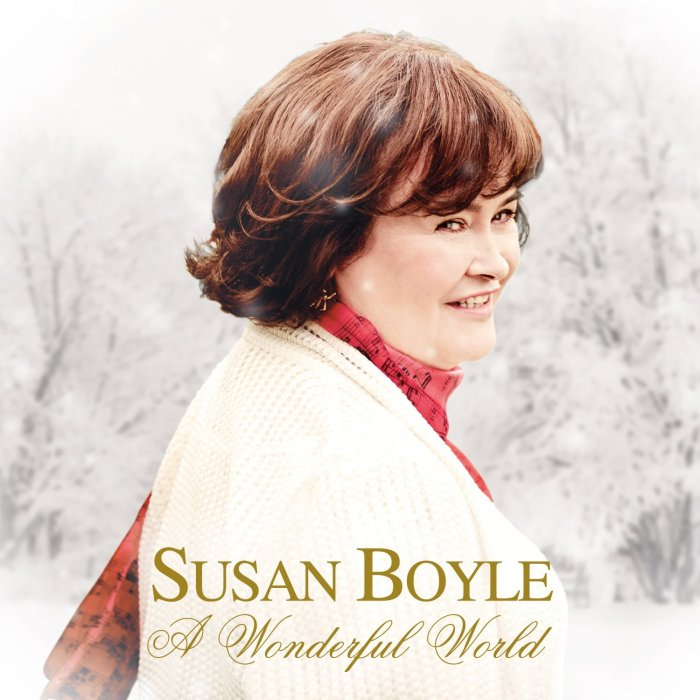 Susan Boyle, A Wonderful World © Sony Music