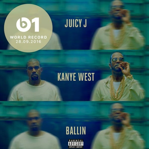 Track Review: Juicy J ft. Kanye West, 'Ballin'