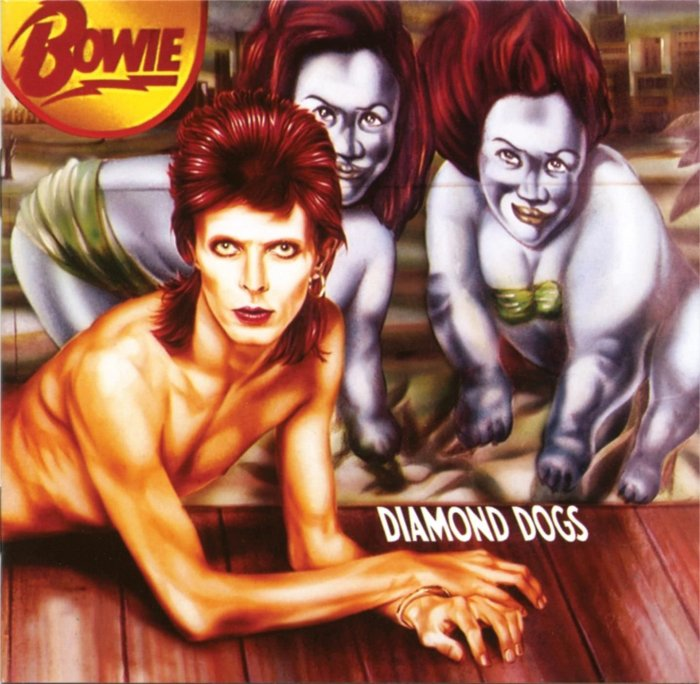 David Bowie, Diamond Dogs © Virgin
