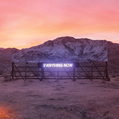 Arcade Fire, Everything Now © Columbia