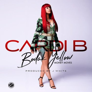 Cardi B, Bodak Yellow © Atlantic