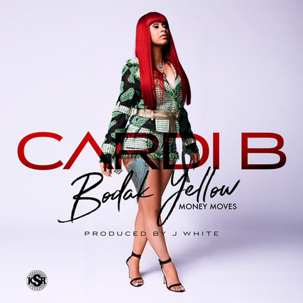 Red Bloody Shoes Cardi B