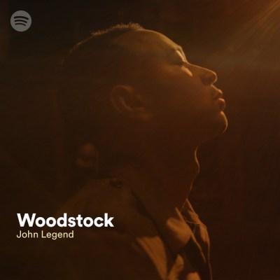 John Legend, Woodstock © Columbia