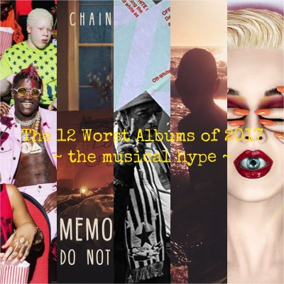 The 12 Worst Albums of 2017