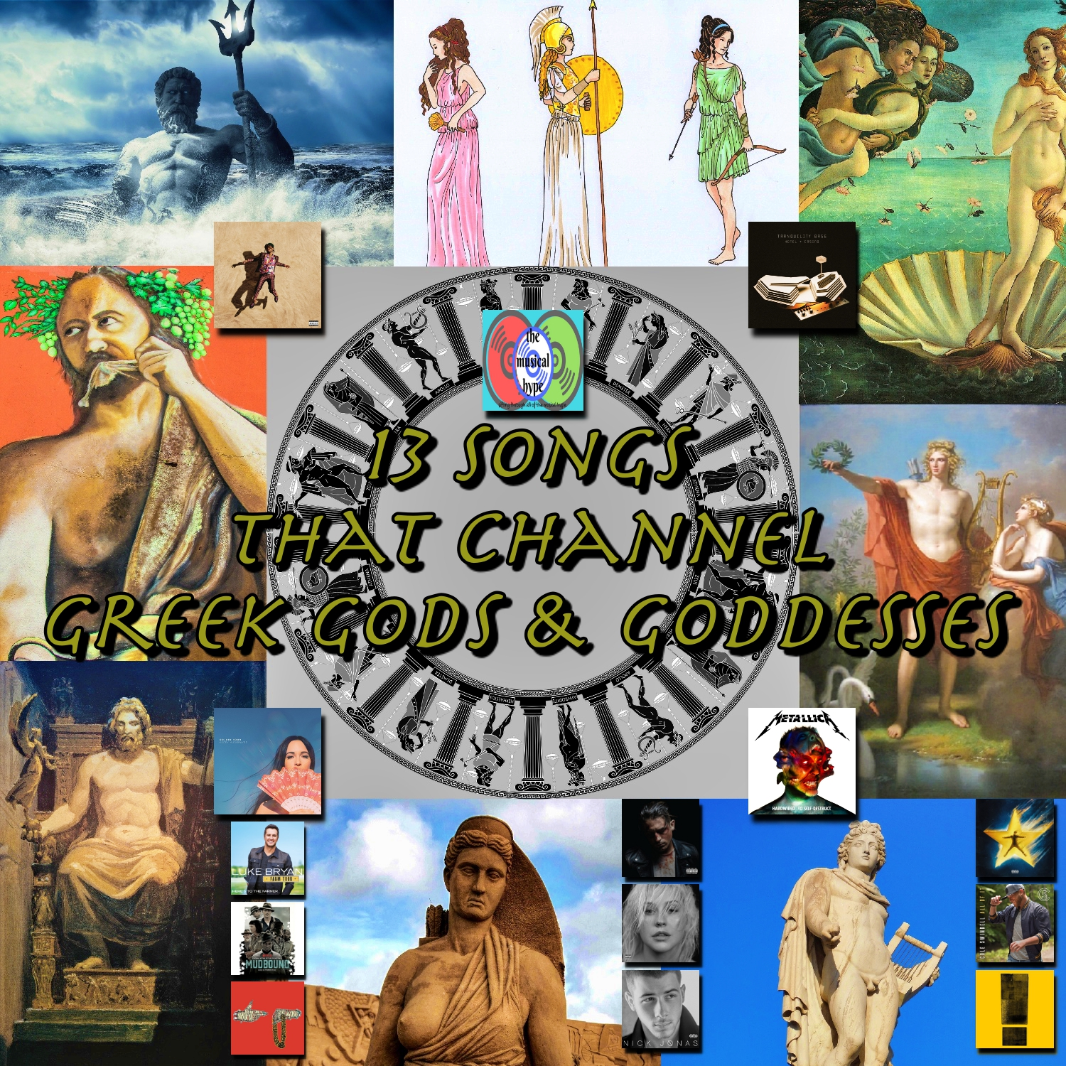 13 Songs that Channel Greek Gods & Goddesses | Playlist