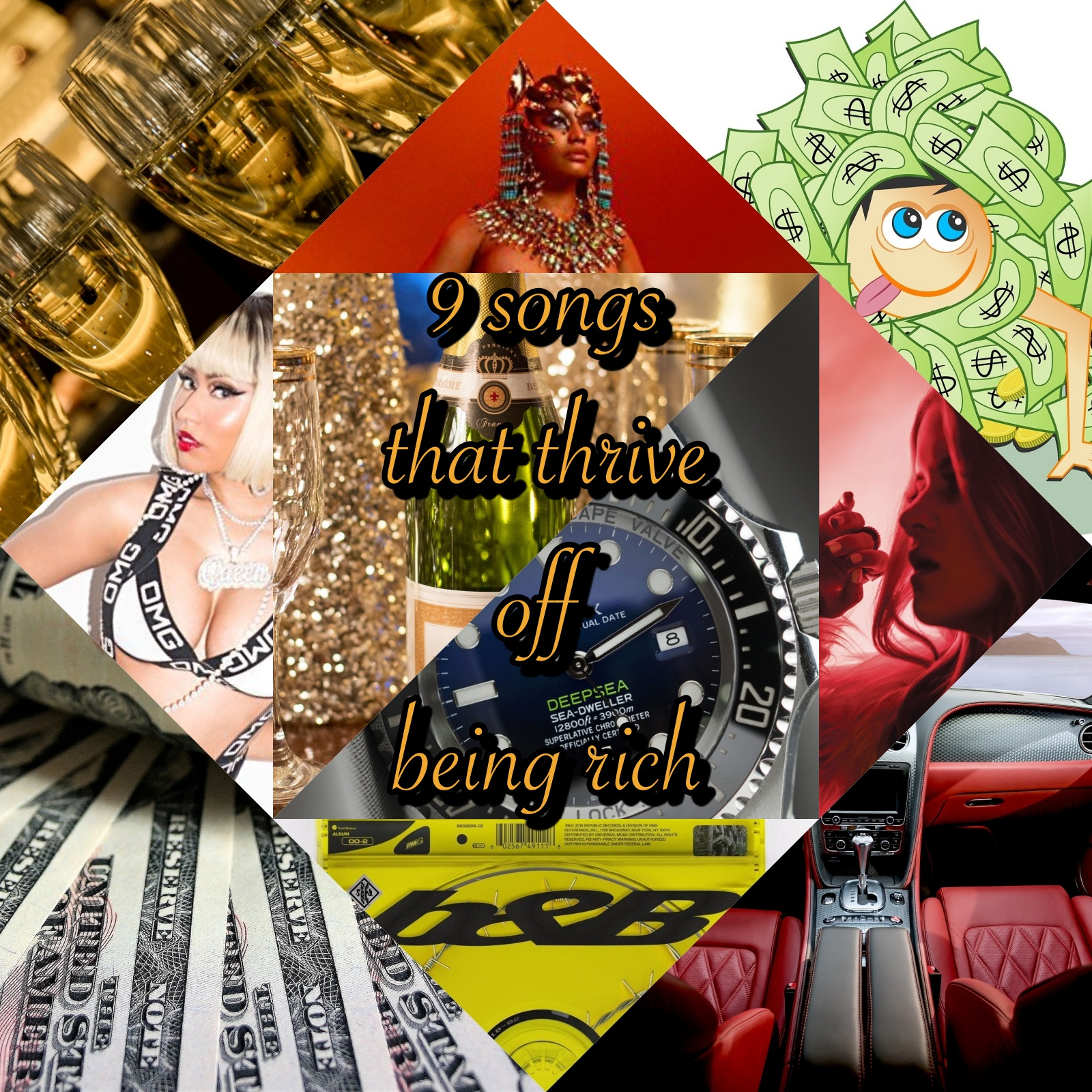 9 Songs That Thrive Off Being 'Rich' | Playlist - The Musical Hype