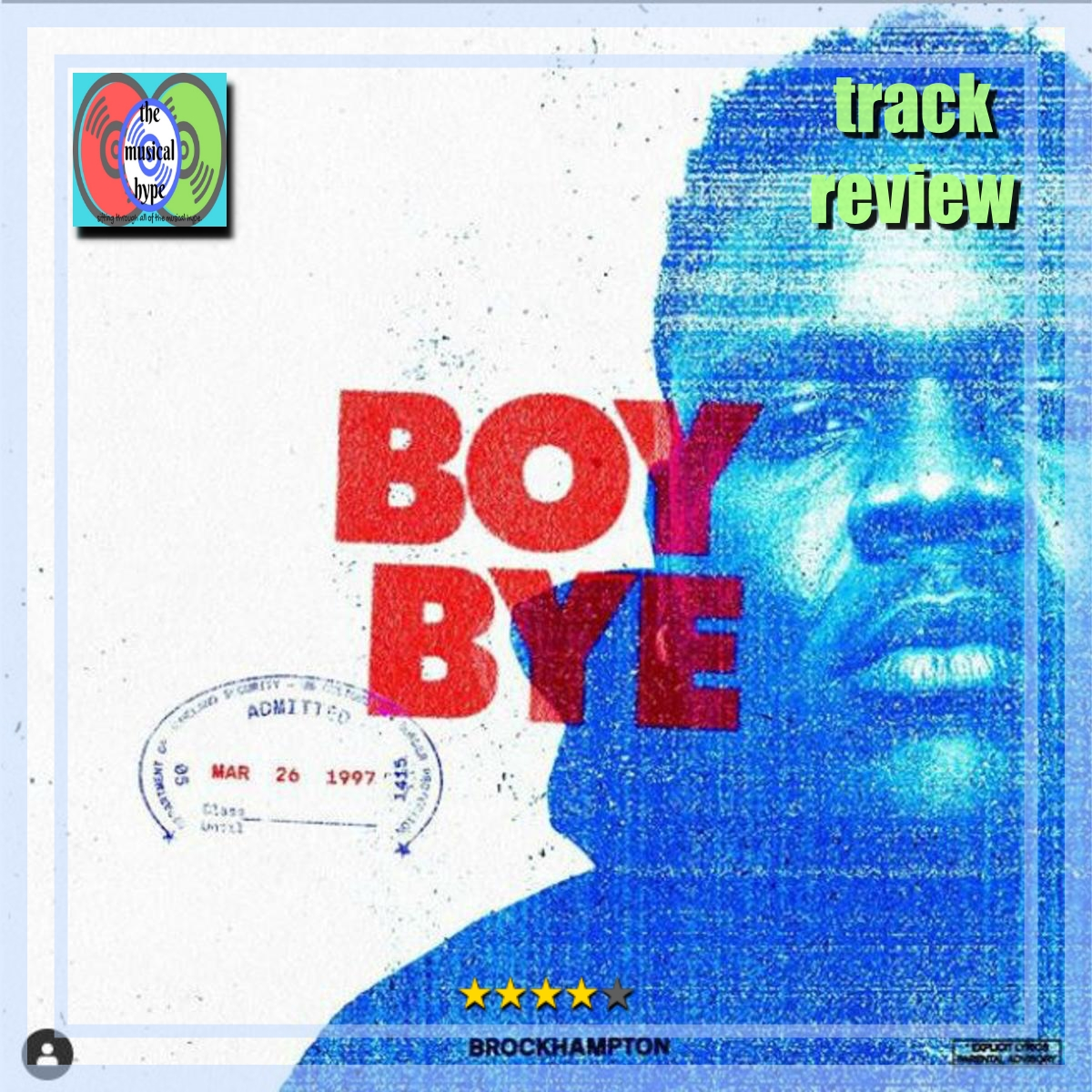 BROCKHAMPTON, Boy Bye | Track Review