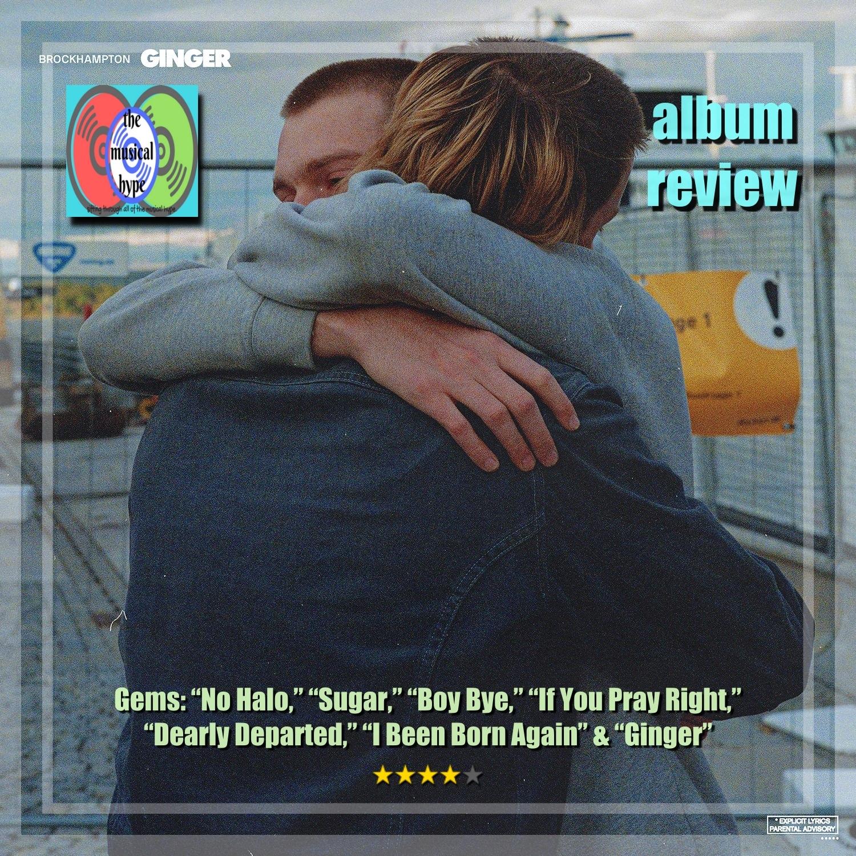 BROCKHAMPTON, GINGER | Album Review