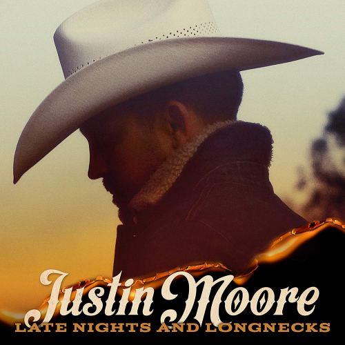 Justin Moore, Late Nights and Longnecks [Photo Credit: Big Machine]