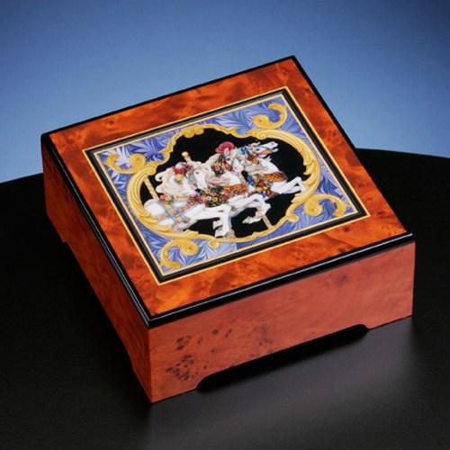 Carousel Horse Jewelry Box