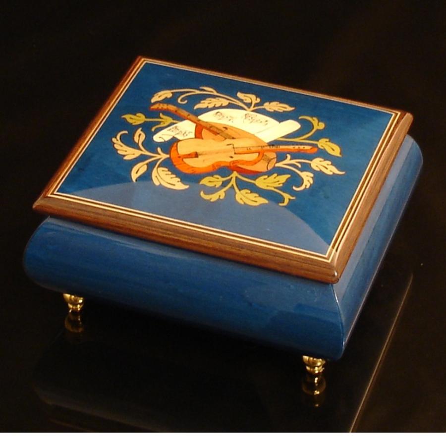 Italian Jewelry Dark Blue 17CVM Brown Trim