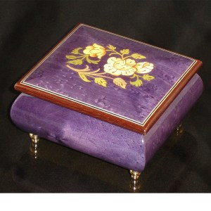 Italian Jewelry Box Plum 17CF