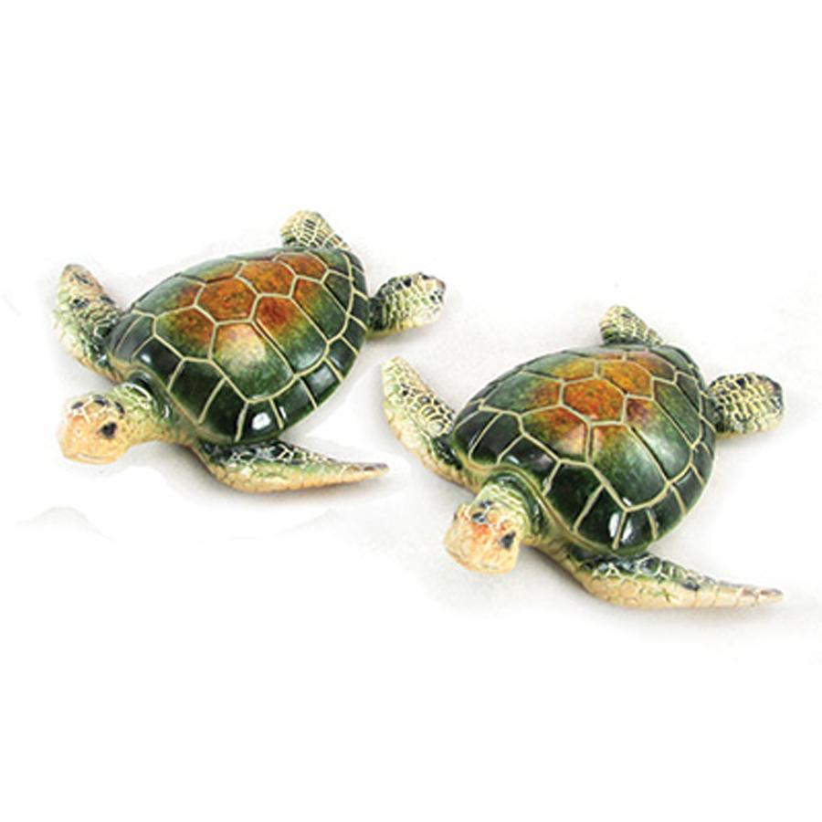Small Green Sea Turtle figurines