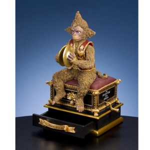 Large Phantom Monkey music box