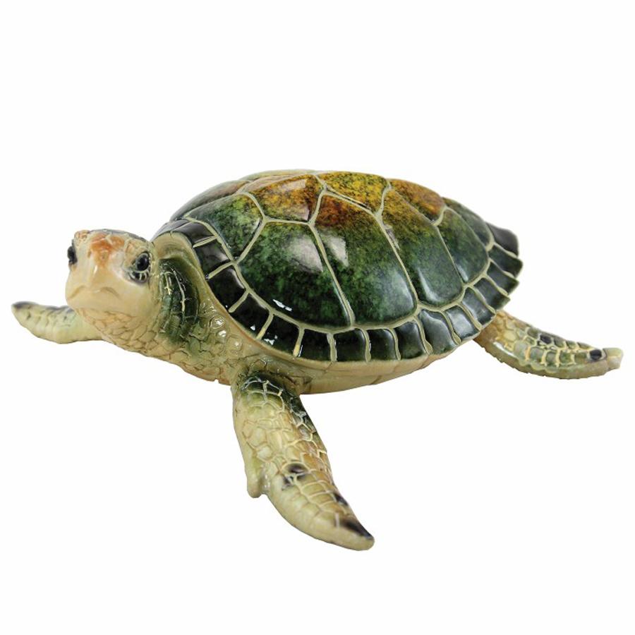Medium Green Sea Turtle Figurine