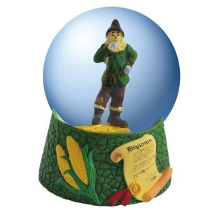 Scarecrow mini water globe