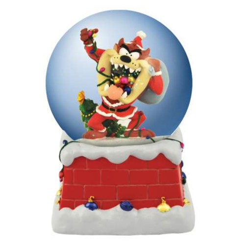 Musical Taz Christmas Water Globe 13960