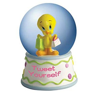 Tweety Bird miniature globe Tweet Yourself 13980W