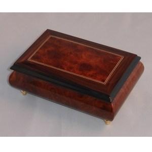 Italian Jewelry Box Burl Elm 04CO