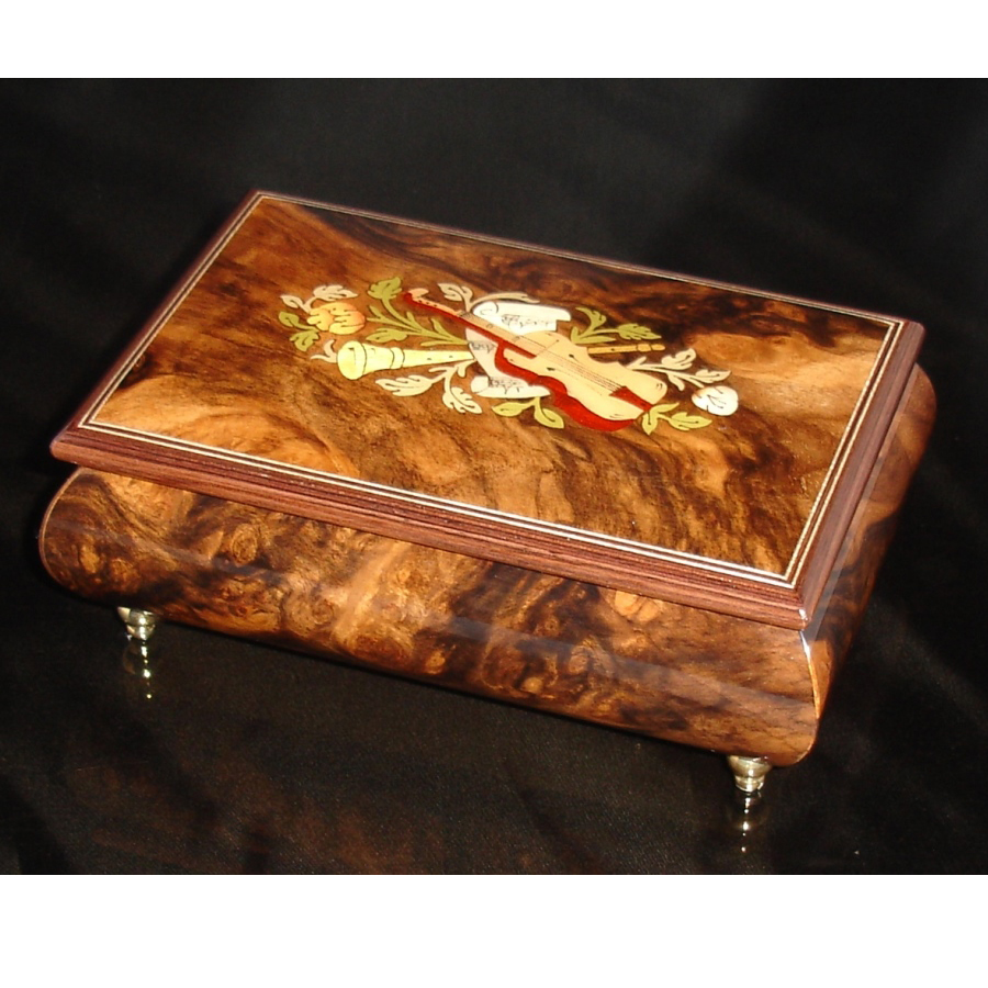Italian Jewelry Box Walnut 04CVM
