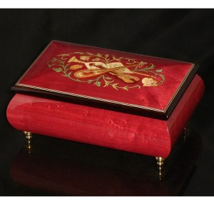 Italian Jewelry Box Wine Red 04CVM